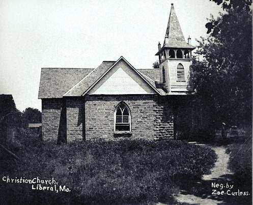 First Christian Church, Liberal, Missouri