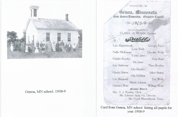 Genoa, Minnesota School